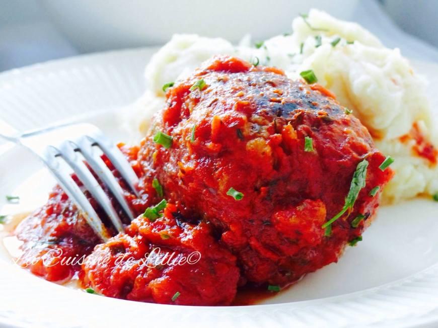 Boulettes à la sauce tomate5