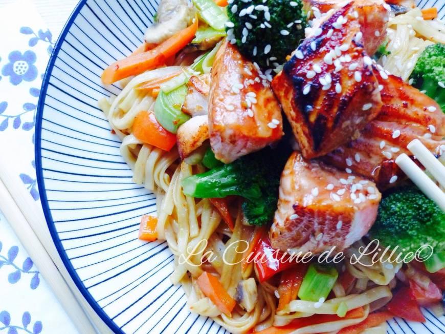 Nouilles saumon5